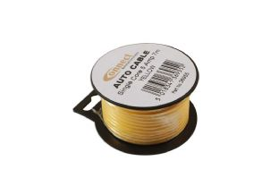Connect 36955 Mini Reel Automotive Cable 5 Amp Yellow 7m